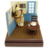 [Miniatuart] Studio Ghibli Mini: Porco Rosso Porco to Phone (Unassembled Kit) (Railway Related Items)