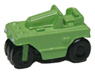 Small Size Tire Roller (Green) (Model Train)