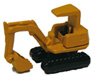Small Size Power Shovel (Yellow) (Model Train)