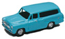 Masterline Van (Light Blue) (Model Train)