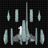 Macross II -Lovers Again- Variable VF-2SS Valkyrie II Super Armed Pack (Completed)