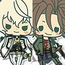 es nino Rubber Strap Collection Touken Ranbu Vol.4 8 pieces (Anime Toy)