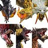Capcom Figure Builder Monster Hunter Standard Model Plus Anger Ver. Kai (Set of 6) (Completed)