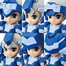 Desktop Army H-819s Chrom Series (Set of 6) (PVC Figure)