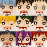 One Coin Mini Figure Collection Kuroko`s Basketball Lastgame (Set of 9) (Anime Toy) (PVC Figure)