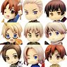 *Bargain Item* One Coin Grande Figure Collection Hetalia Axis Powers Renewal Package Ver. (Set of 9) (PVC Figure)