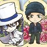 Detective Conan Japanese Style Flower Key Ring (Set of 6) (Anime Toy)