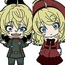 Nendoroid Plus Saga of Tanya the Evil Collectible Rubber Straps (Set of 6) (Anime Toy)