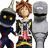 Kingdom Hearts II - Action Figure: Kingdom Hearts Select - Series 1: Sora & Dusk & Soldier (Completed)