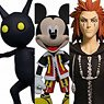 Kingdom Hearts II - Action Figure: Kingdom Hearts Select - Series 1: Mickey Mouse & Axel & Shadow (Completed)