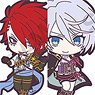Sengoku Night Blood Trading Rubber Strap Ver. A (Set of 10) (Anime Toy)