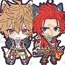 Sengoku Night Blood Trading Rubber Strap Ver. B (Set of 10) (Anime Toy)