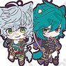 Sengoku Night Blood Trading Rubber Strap Ver. C (Set of 8) (Anime Toy)