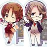 Axis Powers Hetalia Acrylic Key Ring Collection Vol.4 (Set of 9) (Anime Toy)