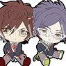 Collar x Malice Petanko Rubber Strap (Set of 9) (Anime Toy)