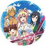 My First Girlfriend is a Gal Stand Plastic Badge Key Visual (Anime Toy)