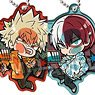 Pita! Deformed My Hero Academia Plain Clothes Acrylic Key Ring (Set of 10) (Anime Toy)