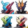 Sofubi Hero Kamen Rider Build -New Form Appearance- (Set of 10) (Shokugan)