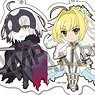 Pikuriru! Fate/Grand Order Trading Acrylic Key Ring Vol.3 (Set of 10) (Anime Toy)