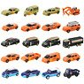 Tomica Lottery 22 Fire Fighter Collection (Set of 20) (Tomica)