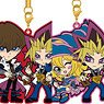 Yu-Gi-Oh! Duel Monsters Pair Rubber Strap Collection Vol.2 (Set of 8) (Anime Toy)