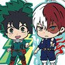 My Hero Academia Tojicolle Rubber Mascot Hero Amulet (Set of 7) (Anime Toy)
