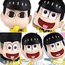 Osomatsu-san A lot of Jyushimatsu Collection Figure (Set of 6) (PVC Figure)