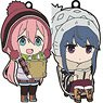 Yurucamp Nendoroid Plus: Trading Rubber Key Ring (Set of 5) (Anime Toy)