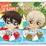 Detective Conan Square Can Badge Vol.3 (Set of 7) (Anime Toy)
