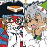 [King of Prism: Pride the Hero] Tatsunoko 55 Collaboration Rubber Strap Collection (Set of 10) w/Bonus Items (Anime Toy)