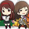 The Idolm@ster Million Live! Acrylic Pop Key Ring Idol School (Set of 10) (Anime Toy)