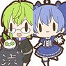 Nijisanji Rubber Strap/First Class (Set of 8) (Anime Toy)