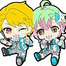 The Idolm@ster SideM Petanko Trading Rubber Strap Vol.4 (Set of 9) (Anime Toy)