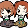 Girls und Panzer das Finale Tehepero Rubber Strap Collection Vol.1 (Set of 12) (Anime Toy)