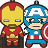Marvel Comic Rubber Strap Collection / Mini Chara (Set of 10) (Anime Toy)