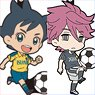 Inazuma Eleven: Ares no Tenbin Rubber Strap Collection / Mini Character (Set of 8) (Anime Toy)
