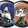Persona 5 the Animation Trading Can Badge (Set of 9) (Anime Toy)