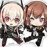 Girls` Frontline Petanko Trading Acrylic Strap (Set of 8) (Anime Toy)