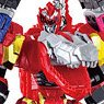 Mini Pla Kishiryu Gattai Series 01 Kishiryuoh Three Knights (Set of 10) (Shokugan)