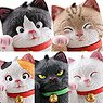 miniQ Miniature Cube Good Luck Cat of Sato Kunio (Set of 8) (Completed)