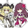 Pikuriru! Fate/Grand Order Trading Acrylic Key Ring Vol.7 (Set of 10) (Anime Toy)