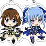 Magical Girl Lyrical Nanoha Detonation Trading Acrylic Strap (Set of 10) (Anime Toy)
