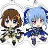 Magical Girl Lyrical Nanoha Detonation Trading Acrylic Strap (Set of 10) (Anime Toy)