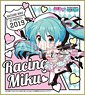 Hatsune Miku Racing Ver. 2019 Mini Colored Paper (4) (Anime Toy)