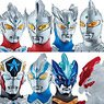 Sofubi Hero VS Ultraman Battle Set [Enter Ultraman Taiga] (Set of 12) (Shokugan)
