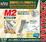 Unitrack [M2] Basic Oval Track & Passing Track Set with Kato Power Pack Standard SX (Master2) (Model Train)