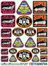 Tamiya Mini 4WD Logo Sticker Set (Mini 4WD)