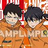 Fire Force Trading Mini Colored Paper (Set of 10) (Anime Toy)