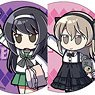 Girls und Panzer das Finale High Five Trading Can Badge Vol2. (Set of 10) (Anime Toy)