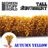 Tall Shrubbery - Autumn Yellow (Material)